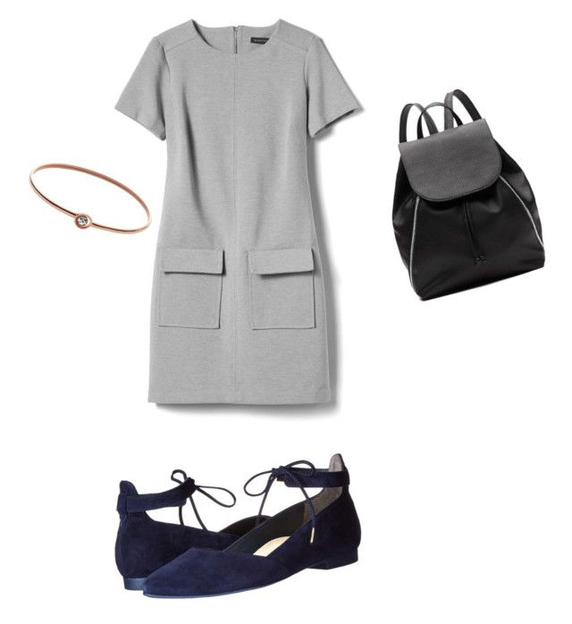 """""""Untitled #3"""" by madalina-diaconu on Polyvore featuring Banana Republic, Paul Green, Witchery and FOSSIL"""