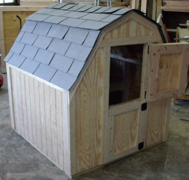 two little pygmy goats lived in a fine little shed. . .