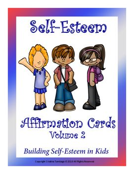 A set of 25 affirmation cards. These affirmation cards are a great way in building self-esteem in kids. These affirmation cards can be used individually or in groups. It can also be used as posters in the classroom.Cards include:1. I am proud2. I am a winner3.