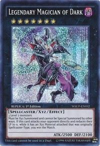 Legendary Magician of Dark holo yugioh card