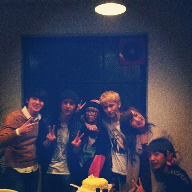 [Internet] Miss A' Min posted a photo of 91 line from Nicole's Birthday ~ mykpopnote