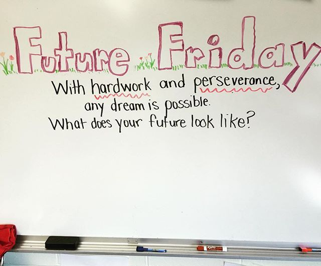 FUTURE FRIDAY #miss5thswhiteboard