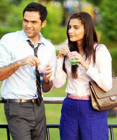 Sonam Kapoor with Abhay Deol in Aisha
