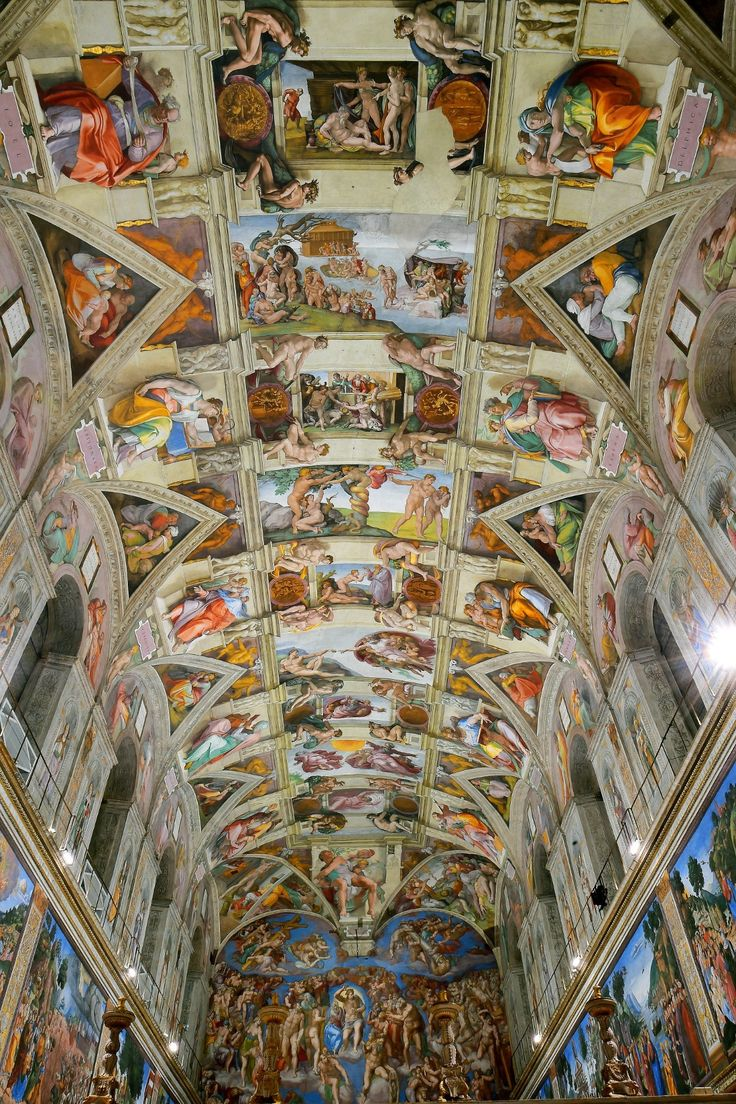 You can now take a virtual tour of the Sistine Chapel