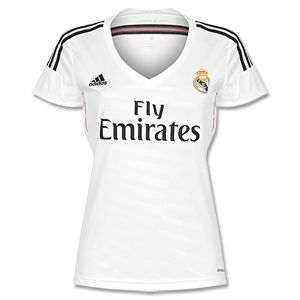 2675a8faf1b ... Adidas Real Madrid Home Womens Shirt 2014 2015 Real Madrid Home Womens  Shirt 2014 2015 http ...