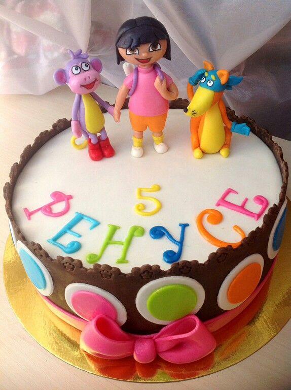 Торт для Ренуси на пятилетие в тон её платья #cake #ДашаПутешественница