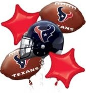 Houston Texans Balloon Bouquet - Party City