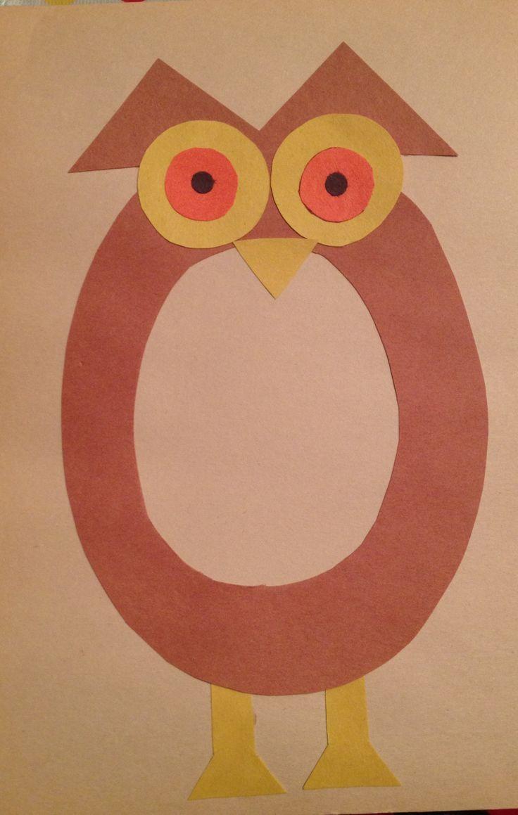 Preschool letter o craft preschool letter crafts for Letter p preschool crafts