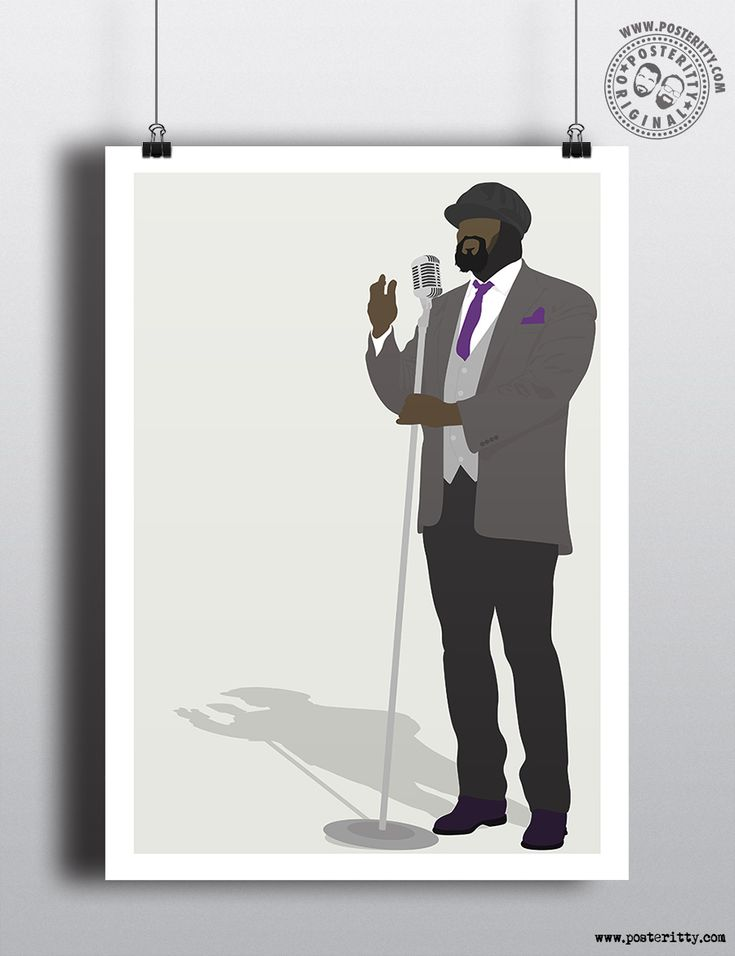 Gregory Porter - Minimal Music Poster design by Posteritty #Posteritty #MinimalPosters #Minimalistic #PosterittyStyle #GregoryPorter