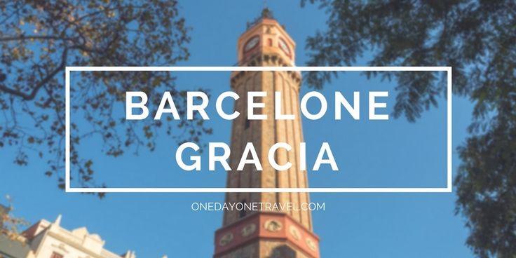 Gracia, visite d'un quartier authentique à Barcelone. Récit, conseils, bonnes adresses et parcours pour mieux découvrir le quartier Gracia en 9 étapes.