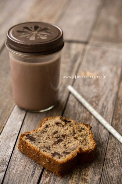 Gâteau banane chocolat (Chocolate banana bread)