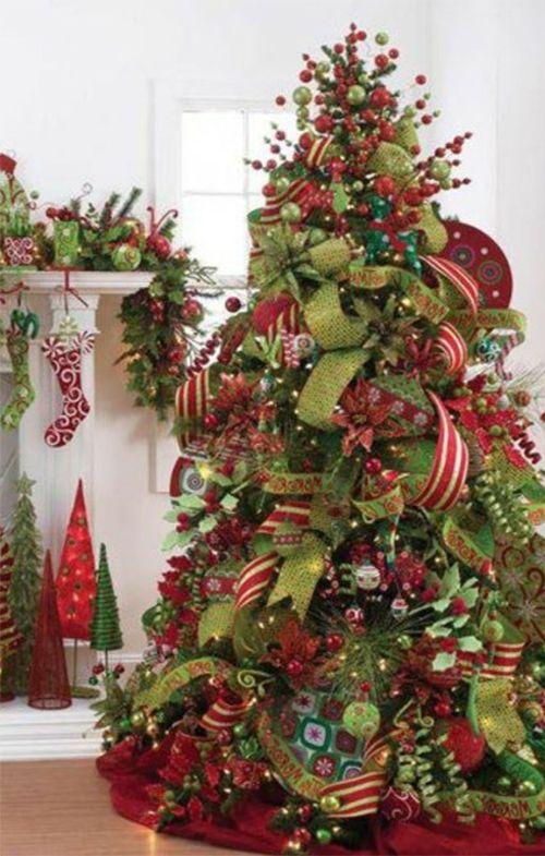 creative christmas tree design