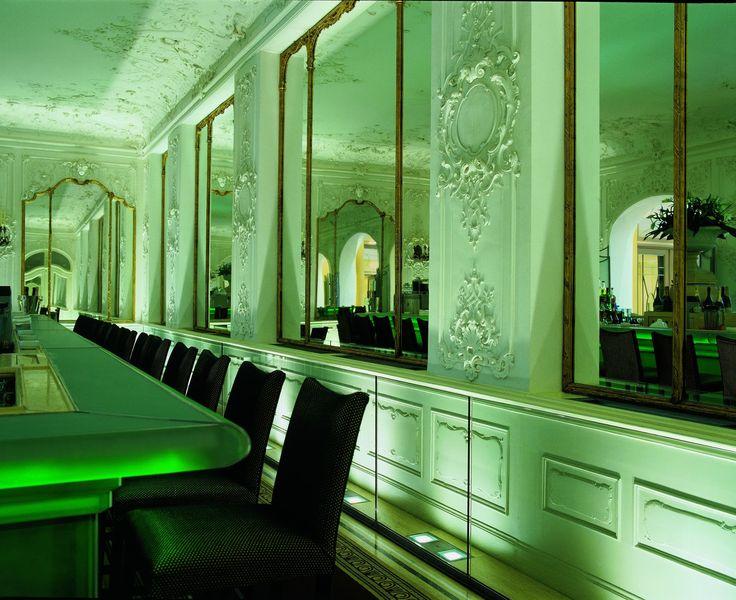 Falk's Bar at BayerischerHof Hotel, Munich Germany