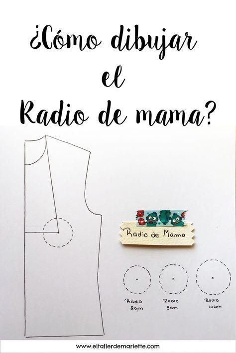 Cómo dibujar el Radio de mama? | El Taller de Mariette | sewing ...