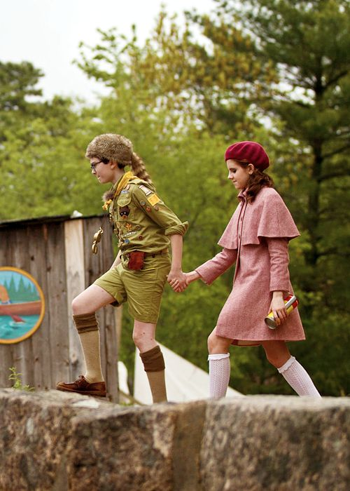 """""""We're in love. We just want to be together. What's wrong with that?"""" -Moonrise Kingdom"""