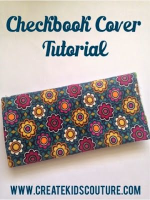 DIY: Checkbook Cover