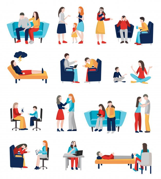 Download Family Psychologist Characters Set For Free In 2020