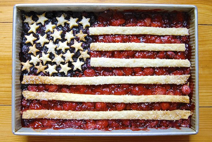 Three cheers for the red, white, and blueberry! This clever (and tasty) flag cobbler is the perfect dessert for your next summer party.