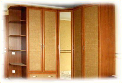 Угловые шкафы и угловые шкафы-купе   Шкафы-купе на заказ от производителя