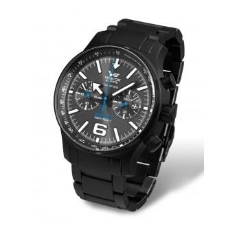 Reloj Cronógrafo Vostok ¡Cronometra tu tiempo!  Reloj Vostok North Pole VO5954198b  http://www.tutunca.es/reloj-con-correa-de-acero-negro-vostok-north-pole-crono