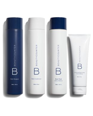 Body Collection // Love this -- especially the shampoo and conditioner. If you're looking for a safe option for shampoo & conditioner, this is highly recommended!