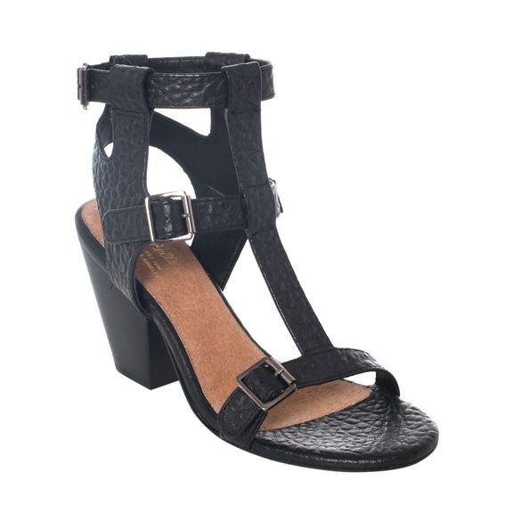 Electro Sandal in Black