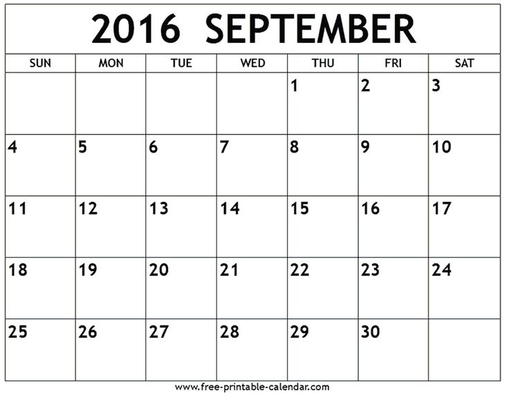25+ Best 2016 September Calendar Ideas On Pinterest | September