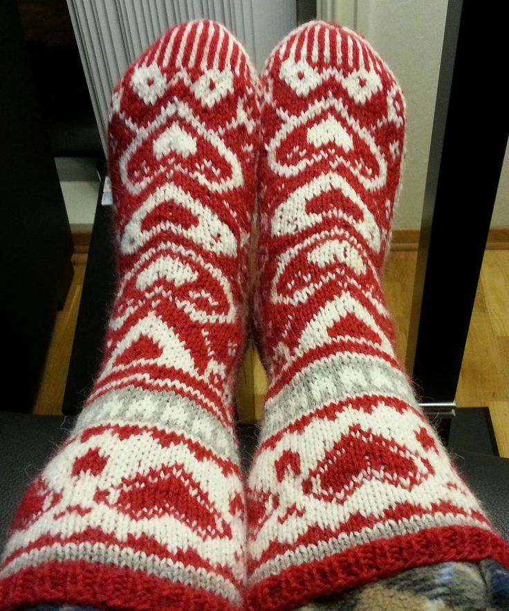 Socks for cold winterevenings