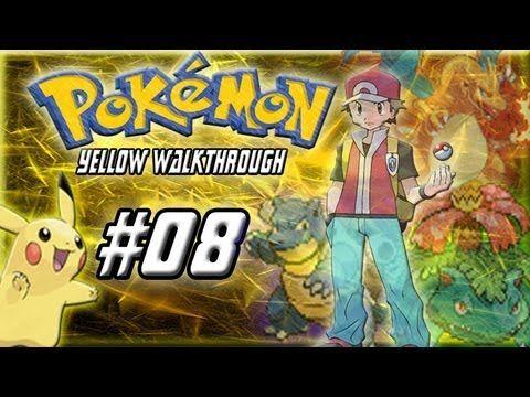 Pokemon Yellow Walkthrough Part 8.-To Bills House!!! (+playlist)