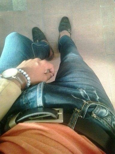Experiment in my jeans. Casual day   #Barneysstyle#gentlemen#dapper#effortlesslydone#menswear#dappertastic#class#elegant#nonchalance#rakish#casual#summerspring#sprezzatura#accessories#madeinSA#tshwane#Dlambili