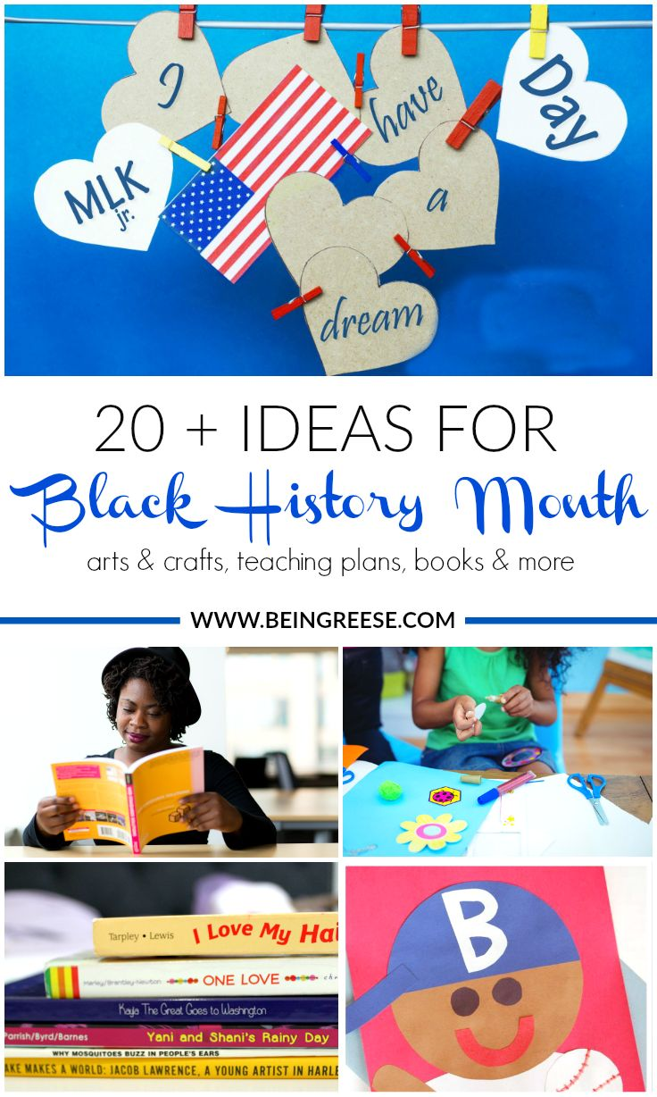 20 Ways to Celebrate Black History Month with your Family