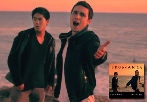 """chester see and ryan higa """"Bromance"""" man i just love them both. i can't decide who i like better lol."""