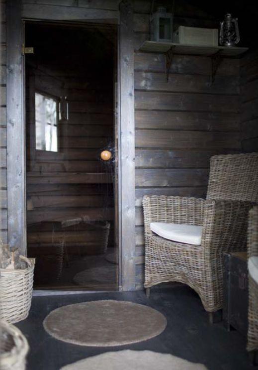 Kesämökin sauna