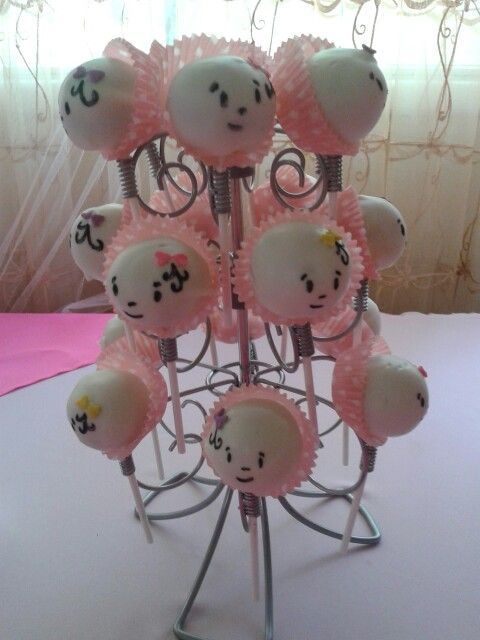 best baby shower  cake pops/balls images on   baby, Baby shower invitation