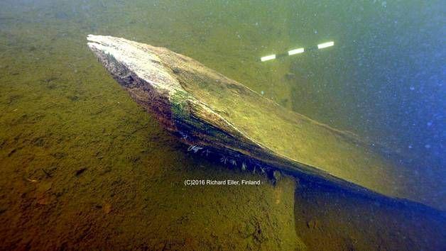Sukeltajat löysivät ruuhen, joka voi olla yli 2000 vuotta vanha.