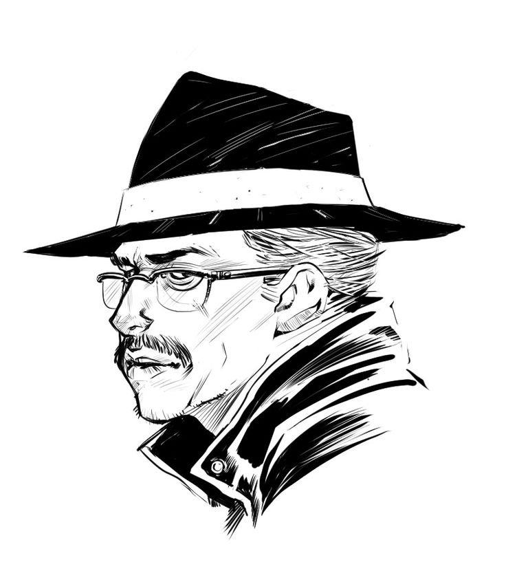 Morning sketch of everyone's favourite Gotham Police Commissioner, James Gordon!  When I was doodling this I realize that Jim just needs to have his head and he would be the spitting image of Walter from Breaking Bad.