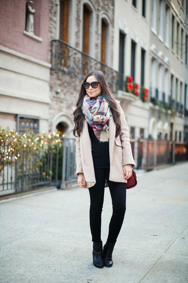 Cozy scarf.