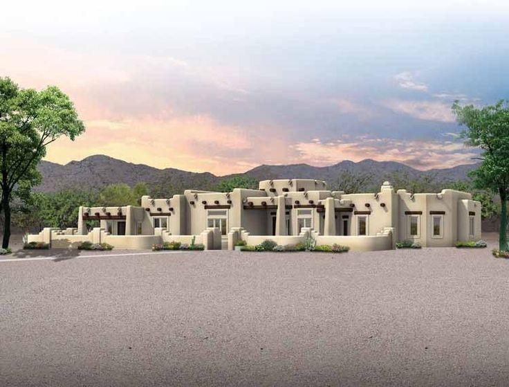 145 best Pueblo Style Homes images on Pinterest | Architecture ...
