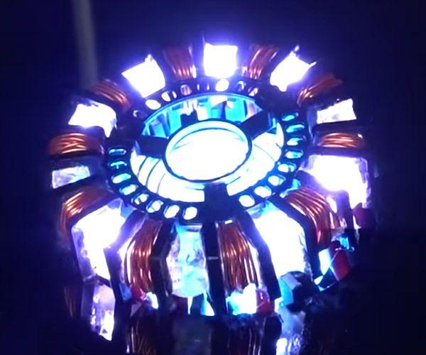How To Make A Realistic Arc Reactor Like Tony Stark S Arc Reactor Stark Site Design
