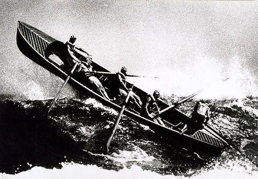 Sydney, surf boat (1960) David Moore