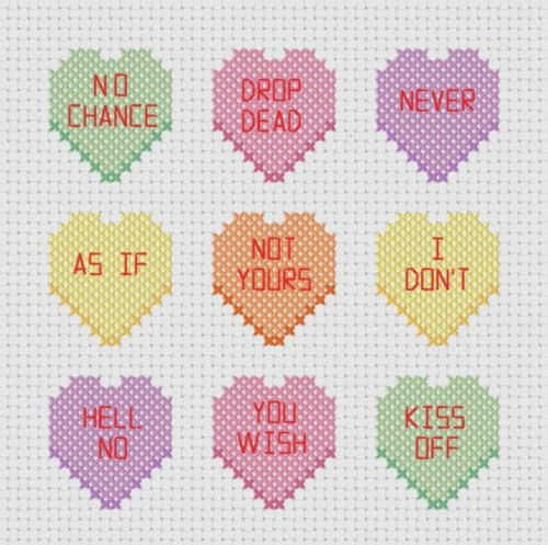 My kind of conversation hearts