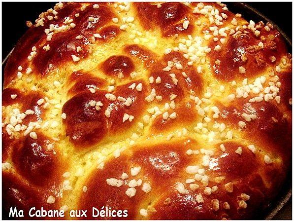 Brioche oranaise la Mouna | La cuisine de Djouza recettes faciles et rapides