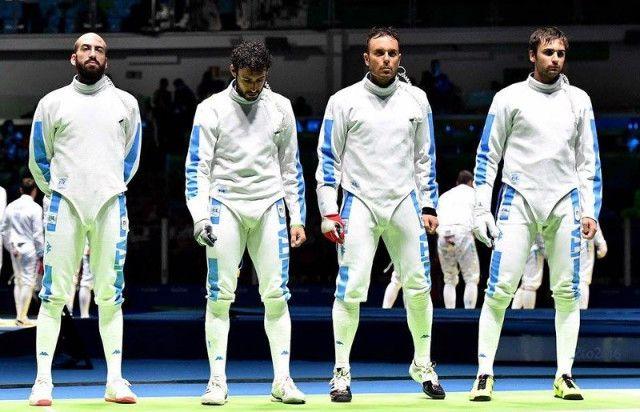 Olimpiadi Rio 2016, Scherma: è argento per gli azzurri. Francia troppo superiore