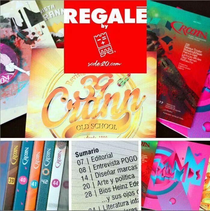 """REVISTAS """"CRANN"""" una de las mejores revistas de Diseño de #Latinoamérica, desde Argentina para ti y en ediciones de colección: #PROMO #DICIEMBRE 2016 USD 9.99 por cada ejemplar. USD 45,00 por el pack de 5 ejemplares de colección. Enviamos a todo el #Ecuador, vía Servientrega ó TAME. PEDIDOS:  0987067309  (WS), info@scde20.com"""