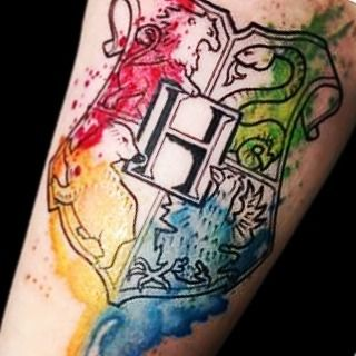 cool New Top 100 Harry Potter Tattoo | So beautiful!! Sent by: @s_rene88044 | http://4develop.com.ua/new-top-100-harry-potter-tattoo-2/