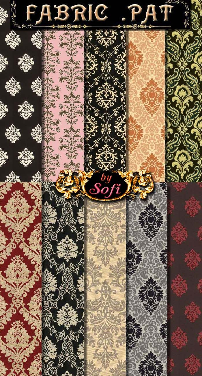 Damask Patterns by sofi01.deviantart.com on @deviantART