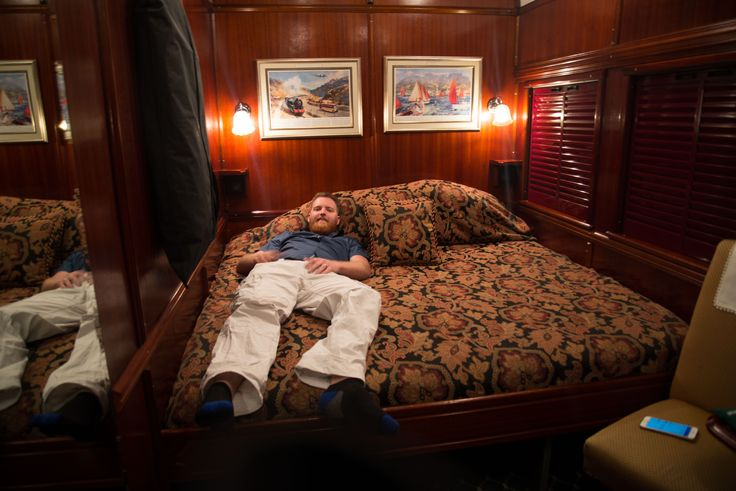 The Royal Suites are very spacious! Rovos Rail. #SouthAfrica #train #journey #rail #Rovos