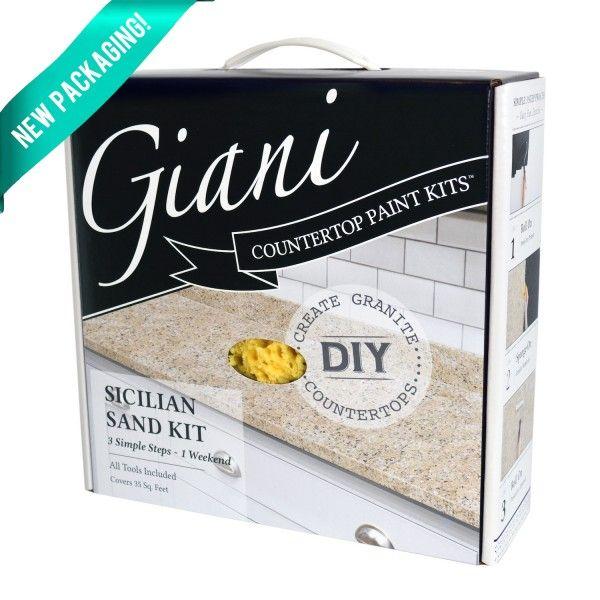Sicilian Sand Kit - Giani Countertop Paint