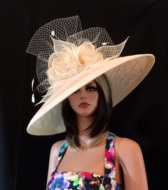 Collection 2017 Chapeau Designer Chapeau De Derby Du Etsy Derby Hats Hat Fashion Couture Hats