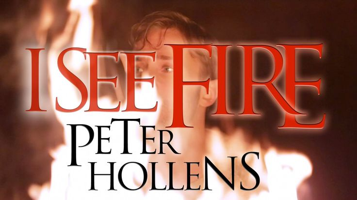 The awesome talent of Peter Hollens -  I See Fire - The Hobbit - Ed Sheeran - Peter Hollens